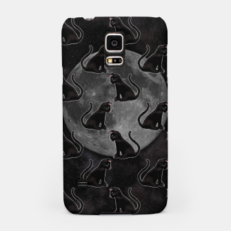 Thumbnail image of Black Cat Full Moon Samsung Case, Live Heroes