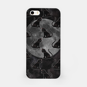 Thumbnail image of Black Cat Full Moon iPhone Case, Live Heroes