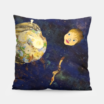 Thumbnail image of A gift for our children Pillow, Live Heroes