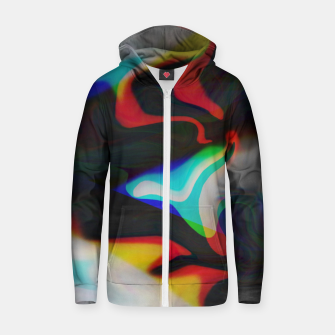 Thumbnail image of flow Zip up hoodie, Live Heroes