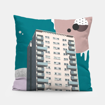 Thumbnail image of Parsons Green, Hammersmith and Fulham, UK Pillow, Live Heroes