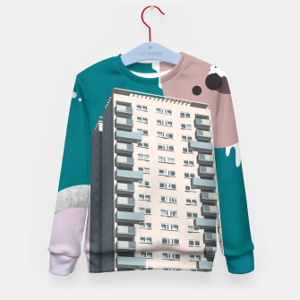 Thumbnail image of Parsons Green, Hammersmith and Fulham, UK Kid's sweater, Live Heroes
