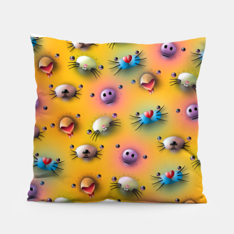 Imagen en miniatura de Cute animals pattern Pillow, Live Heroes