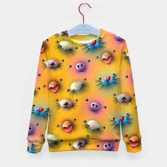 Imagen en miniatura de Cute animals pattern Kid's sweater, Live Heroes