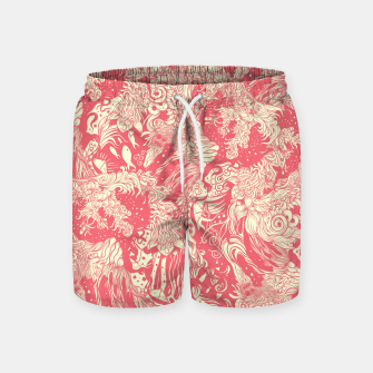 Miniatur Big waves soft Swim Shorts, Live Heroes