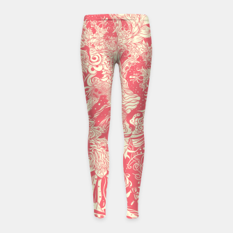 Imagen en miniatura de Big waves soft Girl's leggings, Live Heroes