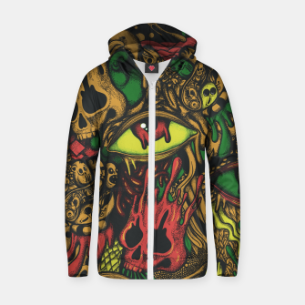 Miniaturka Melting Color Zip up hoodie, Live Heroes