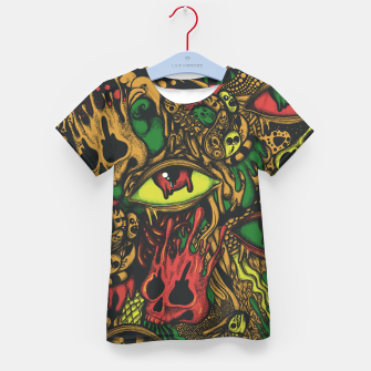 Imagen en miniatura de Melting Color Kid's t-shirt, Live Heroes