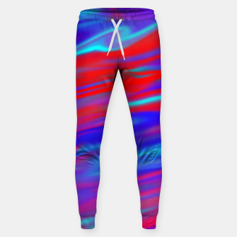 Thumbnail image of Blendy Red Blue Sweatpants, Live Heroes