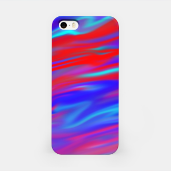Thumbnail image of Blendy Red Blue iPhone Case, Live Heroes