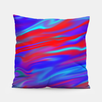 Thumbnail image of Blendy Red Blue Pillow, Live Heroes