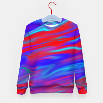 Thumbnail image of Blendy Red Blue Kid's sweater, Live Heroes