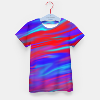 Thumbnail image of Blendy Red Blue Kid's t-shirt, Live Heroes
