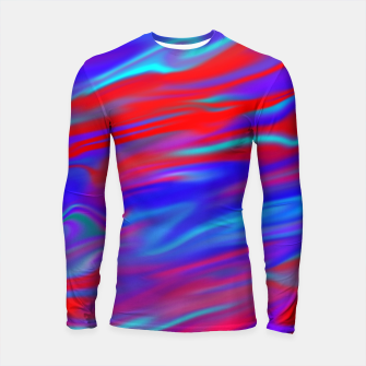 Thumbnail image of Blendy Red Blue Longsleeve rashguard , Live Heroes