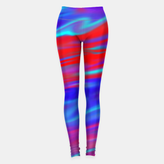 Thumbnail image of Blendy Red Blue Leggings, Live Heroes