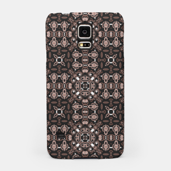 Imagen en miniatura de Brown dark ornament in moroccan or arabic portuguese spanish style Samsung Case, Live Heroes