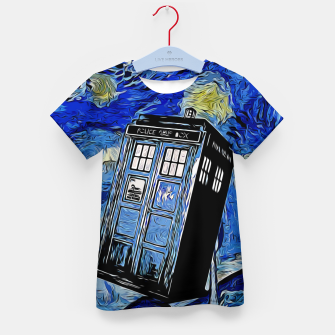 Thumbnail image of Van in Time Camiseta para niños, Live Heroes