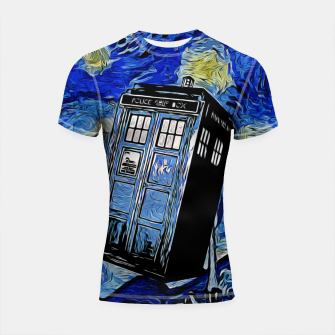 Thumbnail image of Van in Time Shortsleeve rashguard, Live Heroes