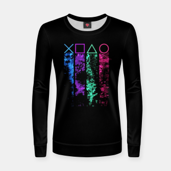 Thumbnail image of The Player Sudadera para mujeres, Live Heroes