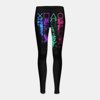 Thumbnail image of The Player Leggings para niña, Live Heroes