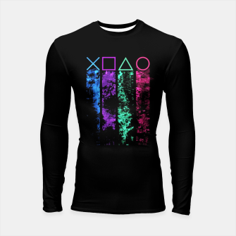 Thumbnail image of The Player Longsleeve rashguard, Live Heroes