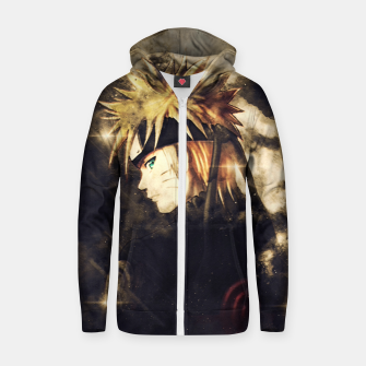 Thumbnail image of Fire Sentiment Sudadera con capucha y cremallera , Live Heroes