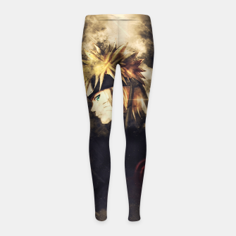 Thumbnail image of Fire Sentiment Leggings para niña, Live Heroes