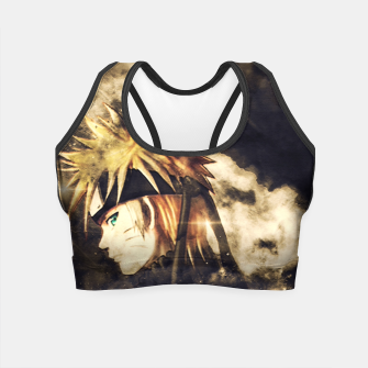 Thumbnail image of Fire Sentiment Crop Top, Live Heroes