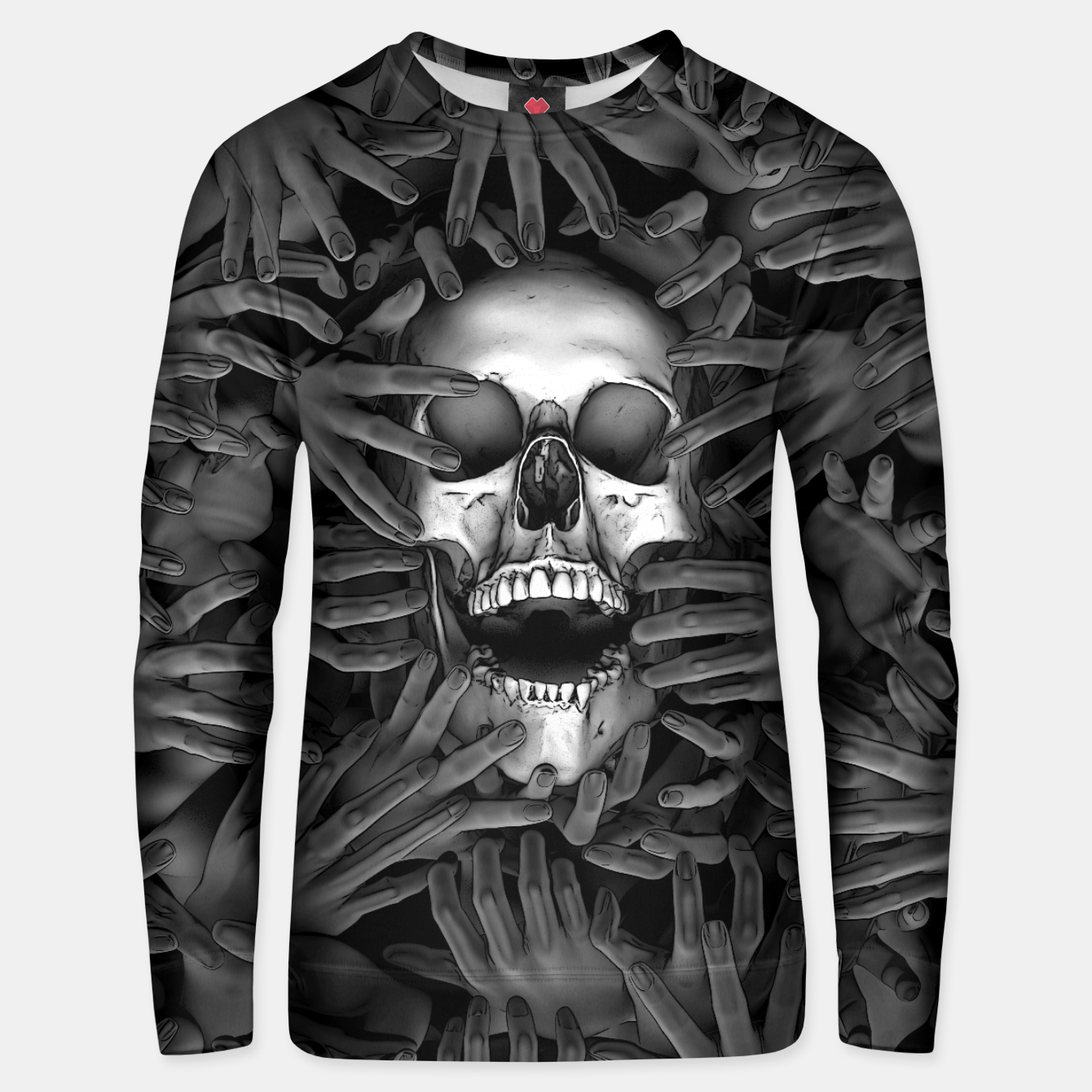 Image of Hell Reclaims It's Own Unisex sweater - Live Heroes
