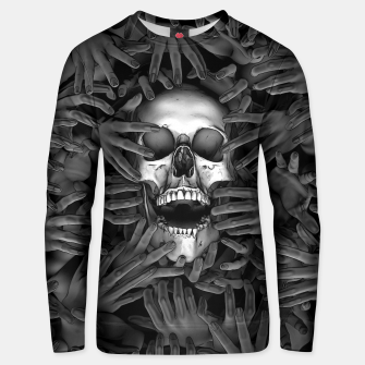 Thumbnail image of Hell Reclaims It's Own Unisex sweater, Live Heroes