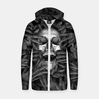 Thumbnail image of Hell Reclaims It's Own Zip up hoodie, Live Heroes
