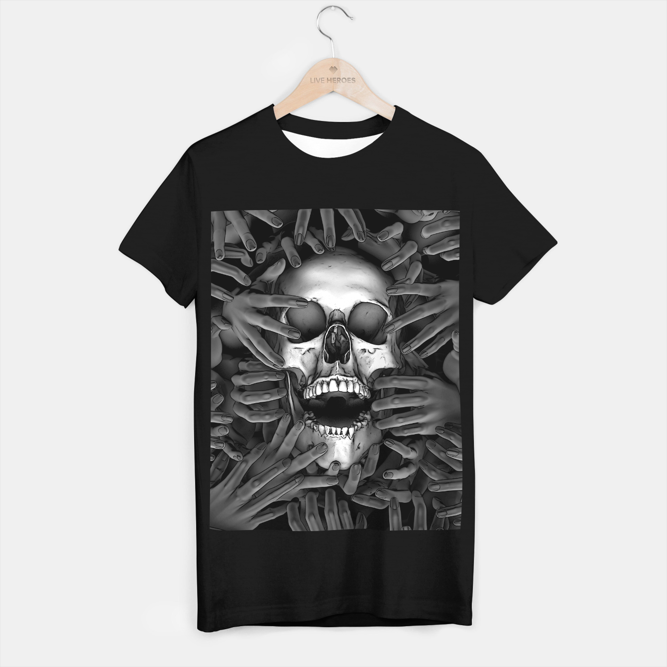Image of Hell Reclaims It's Own T-shirt regular - Live Heroes