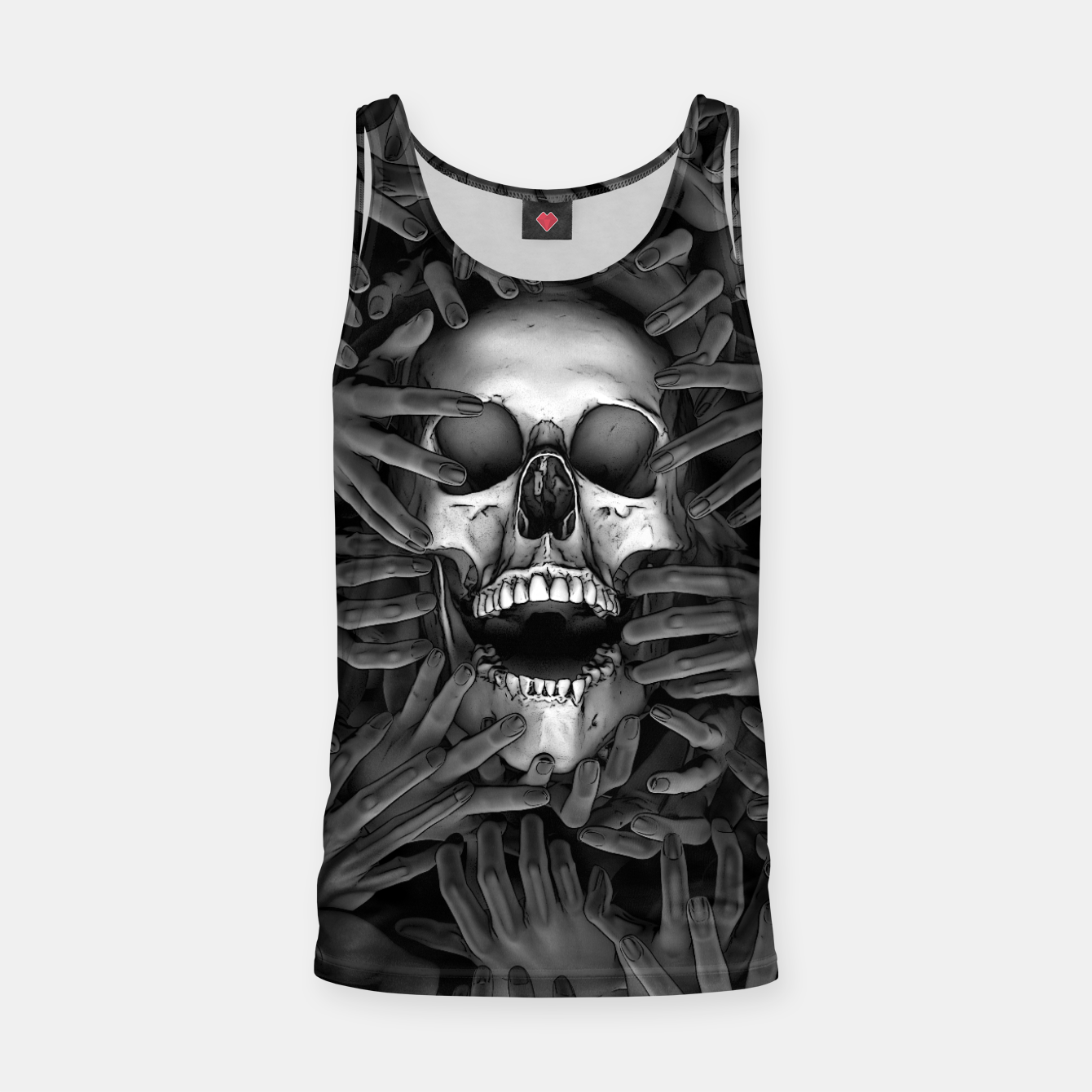Image of Hell Reclaims It's Own Tank Top - Live Heroes