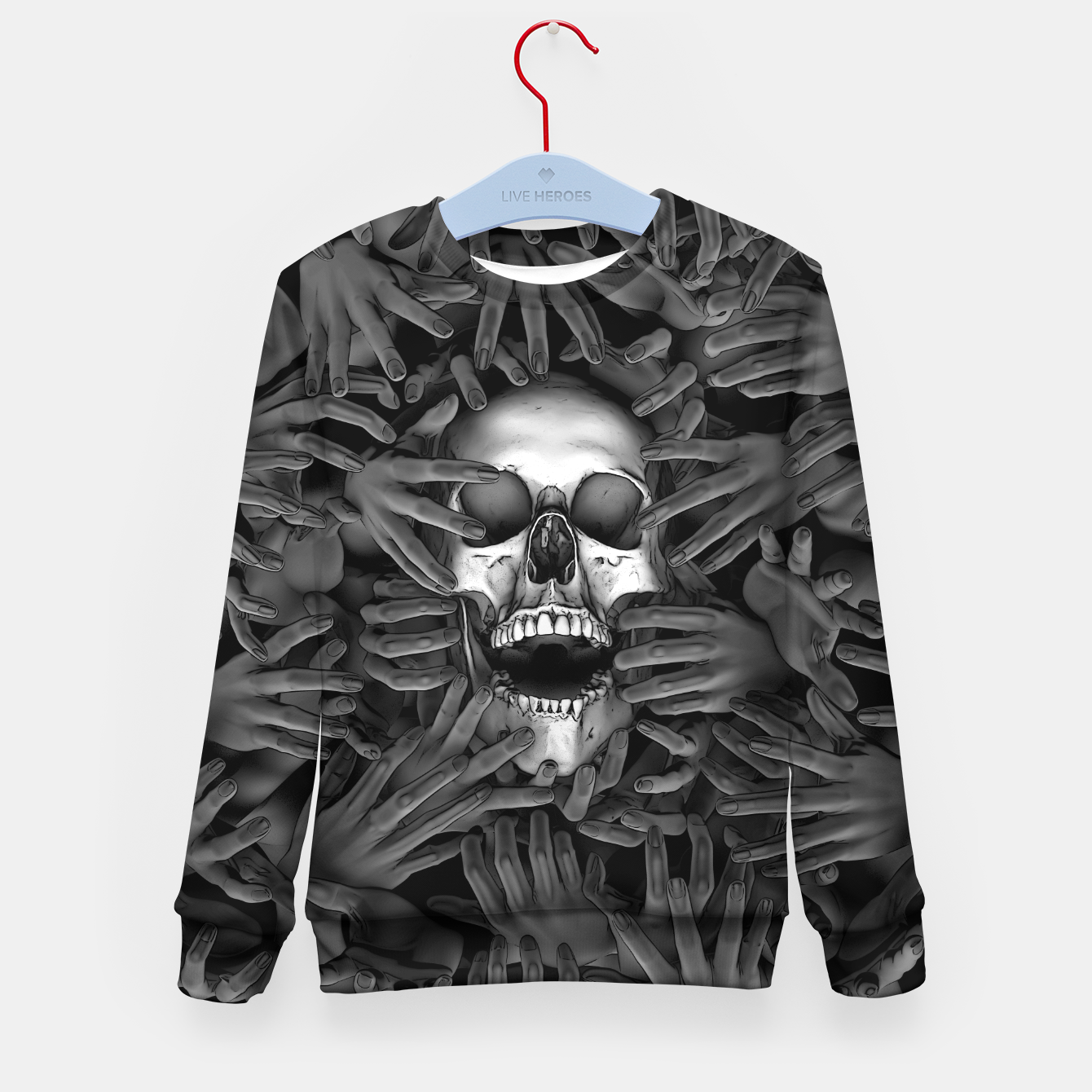 Image of Hell Reclaims It's Own Kid's sweater - Live Heroes