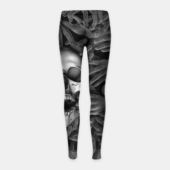 Hell Reclaims It's Own Girl's leggings thumbnail image