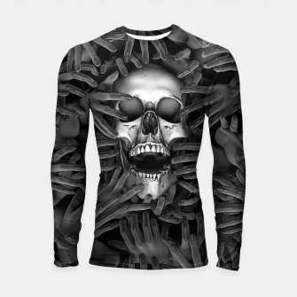 Thumbnail image of Hell Reclaims It's Own Longsleeve rashguard , Live Heroes