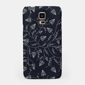 Imagen en miniatura de Seamless floral pattern background with graphic leaves Samsung Case, Live Heroes