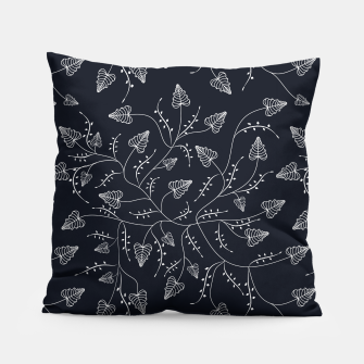 Imagen en miniatura de Seamless floral pattern background with graphic leaves Pillow, Live Heroes