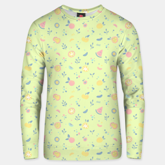 Miniatur Lime Cream Fruity Bonfire Unisex sweater, Live Heroes
