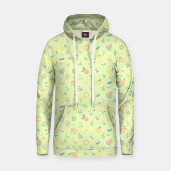 Miniatur Lime Cream Fruity Bonfire Hoodie, Live Heroes