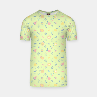 Miniatur Lime Cream Fruity Bonfire T-shirt, Live Heroes