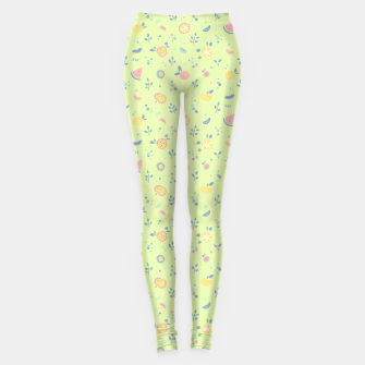 Miniature de image de Lime Cream Fruity Bonfire Leggings, Live Heroes
