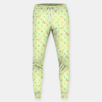Miniatur Lime Cream Fruity Bonfire Sweatpants, Live Heroes