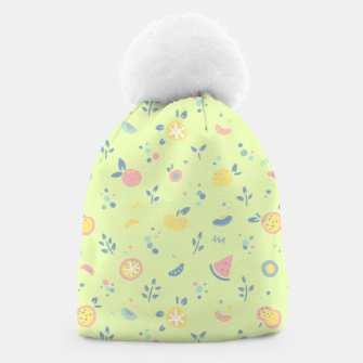 Miniatur Lime Cream Fruity Bonfire Beanie, Live Heroes