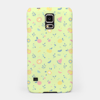 Miniatur Lime Cream Fruity Bonfire Samsung Case, Live Heroes