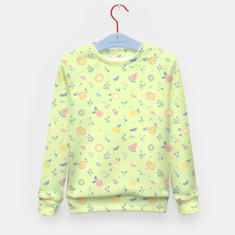 Miniatur Lime Cream Fruity Bonfire Kid's sweater, Live Heroes