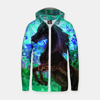 Thumbnail image of Storm Zipped hoody, Live Heroes