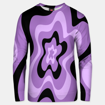 Thumbnail image of Abstract pattern - black and purple. Unisex sweater, Live Heroes