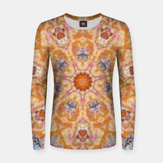 Thumbnail image of Indian Inspired Floral Mandala Design Women sweater, Live Heroes
