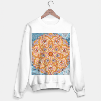 Thumbnail image of Indian Inspired Floral Mandala Design Sweater regular, Live Heroes